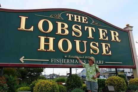 NJ Seafood: Lobster House Sign