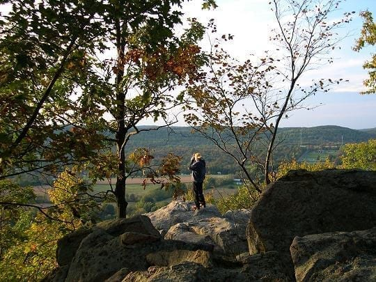 NJ Travel: Beautiful Places in New Jersey, Point Mountain with Val