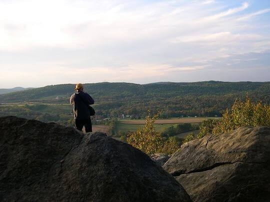 NJ Travel: Beautiful Places in New Jersey, Point Mountain looking over into Warren County