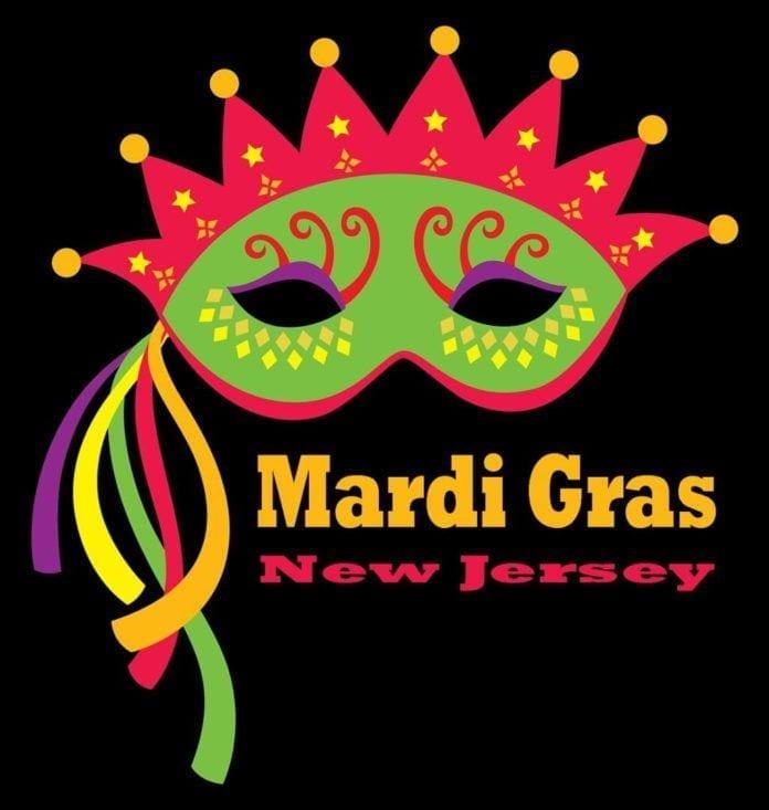 Mardi Gras in NJ Logo