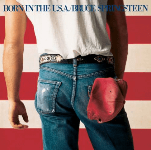 Bruce Springsteen Album Cover