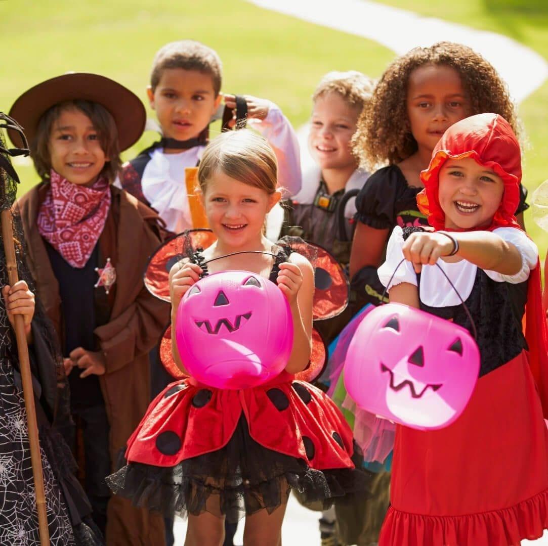 Fall Guide: NJ Halloween-Children In Fancy Costumes