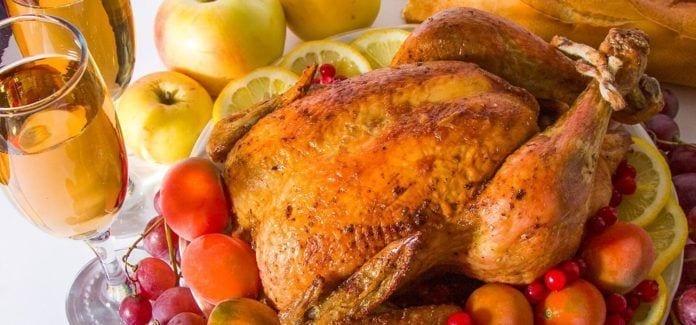 NJ Food-Thanksgiving-Dinner Turkey