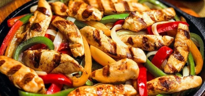 NJ Food-Chicken and Peppers
