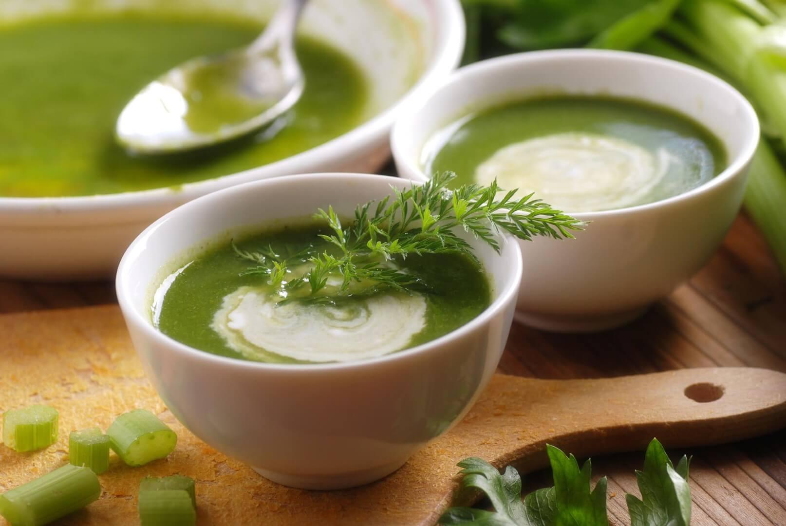 Creamy Celery Root Bisque