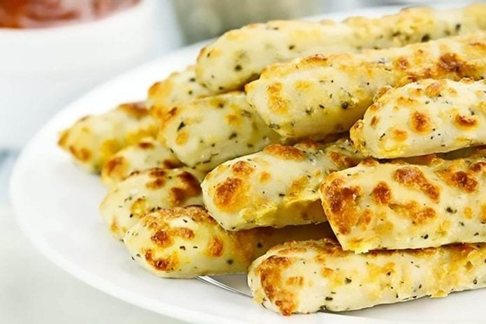 Finger Food App: Mustard and Gruyere Batons.