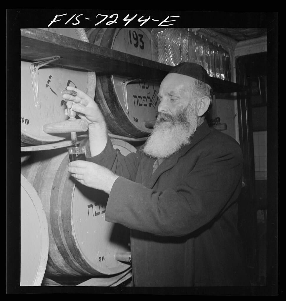 Kosher Wine making