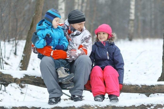 Winter Hiking, NJ, Family