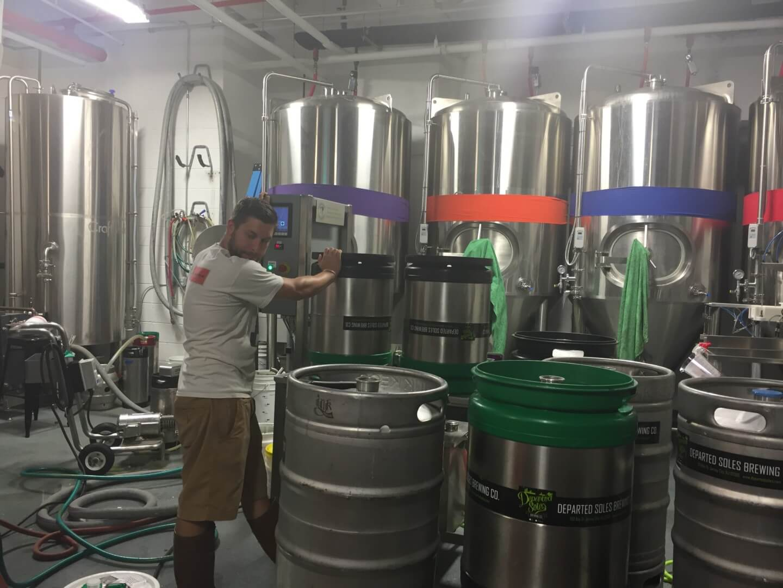 Brew Jersey: Departed Soles