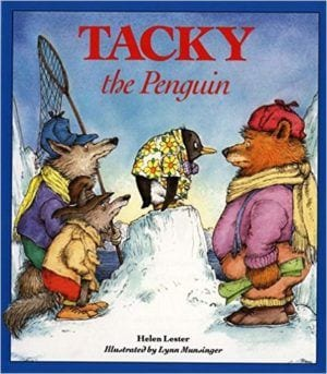 Cover for Tacky the Penguin Book