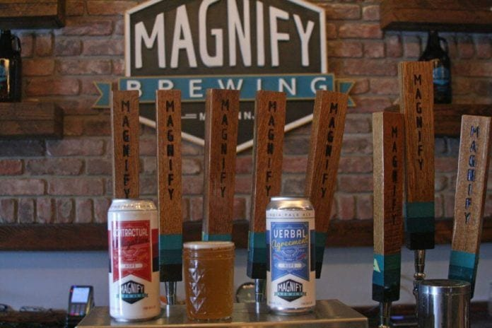 magnify brewing