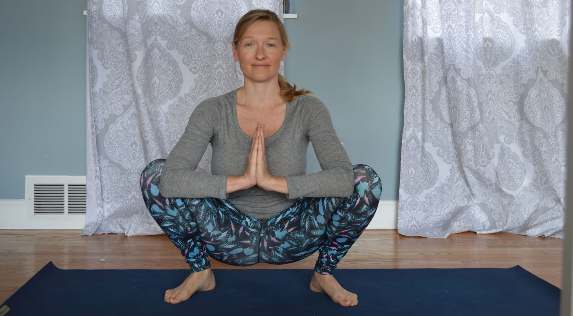 garland pose for digestion