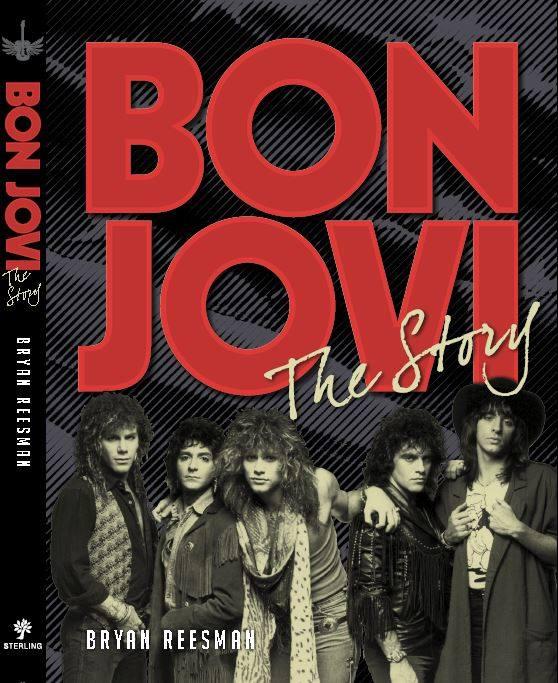 Bon Jovi Book Cover