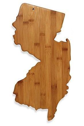 New Jersey Shaped Cutting Board
