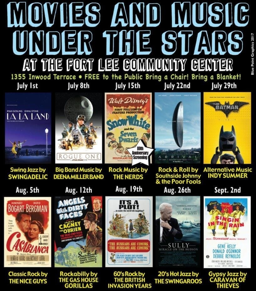 Movies under the stars poster