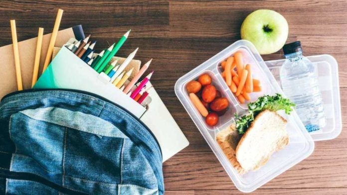 Photo of Backpack and Lunch Box