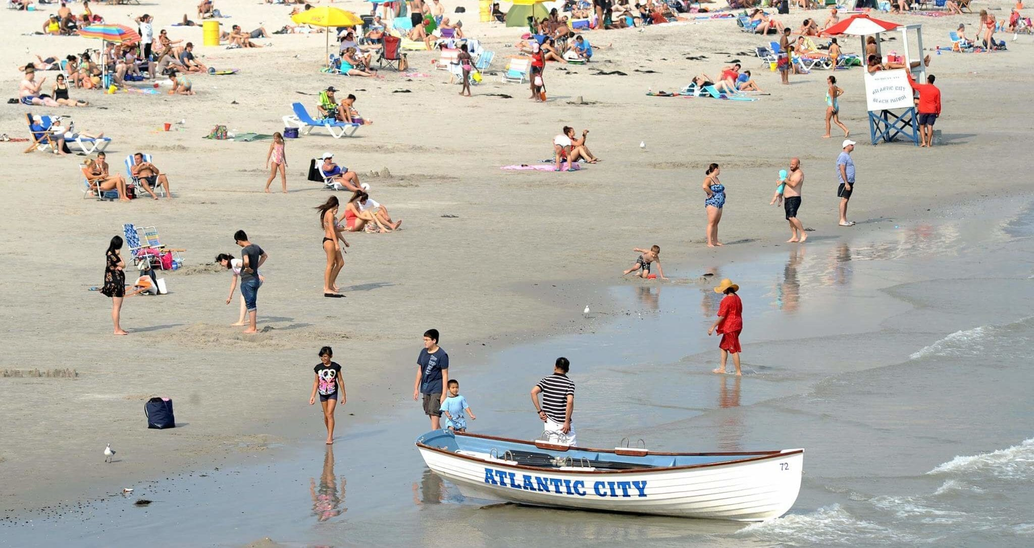 labor day, absecon island