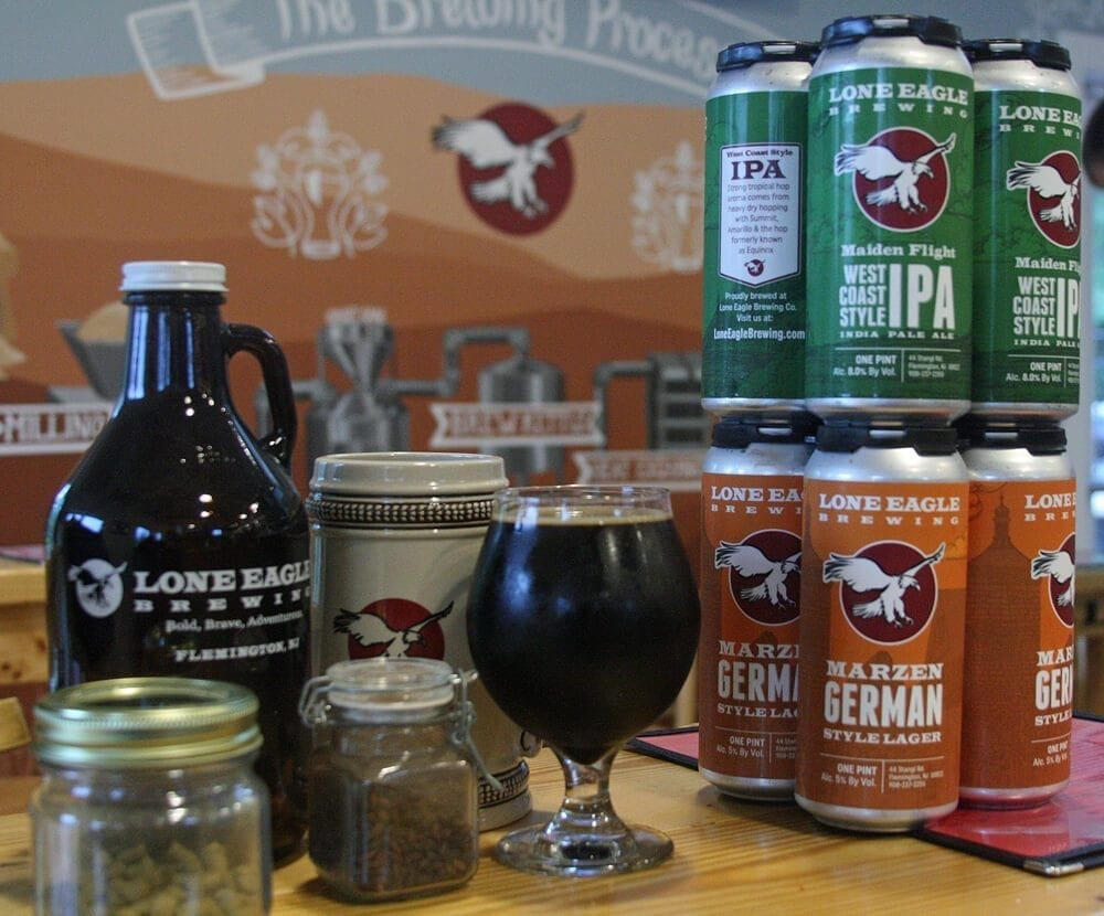lone eagle brewing, brew jersey