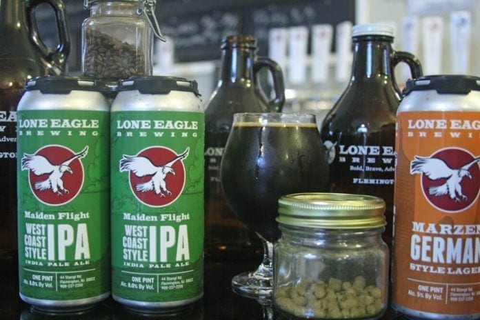 lone eagle brewing, brew jsersey