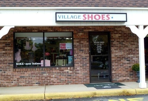village shoes store front