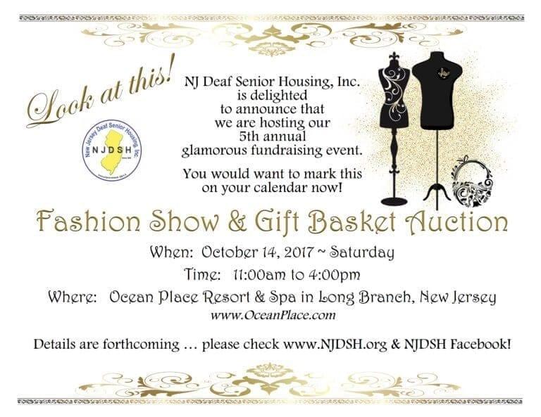 deaf senior housing, fashion show