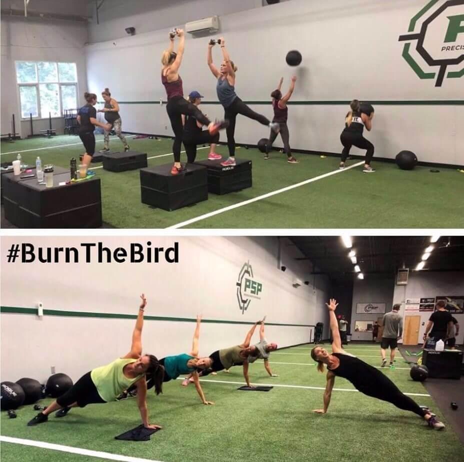 Burn the Bird Thanksgiving Exercise Black Friday
