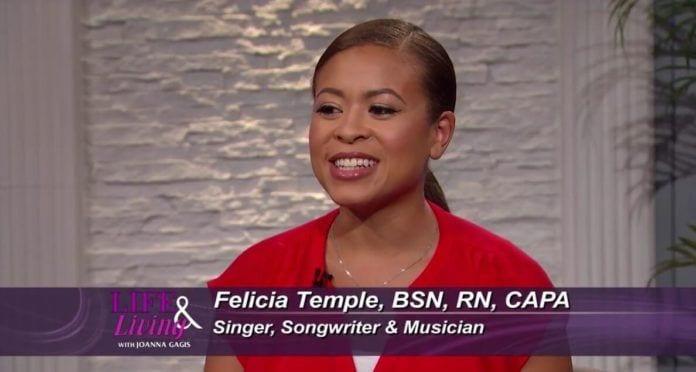 Nurse Felicia Temple on The Voice