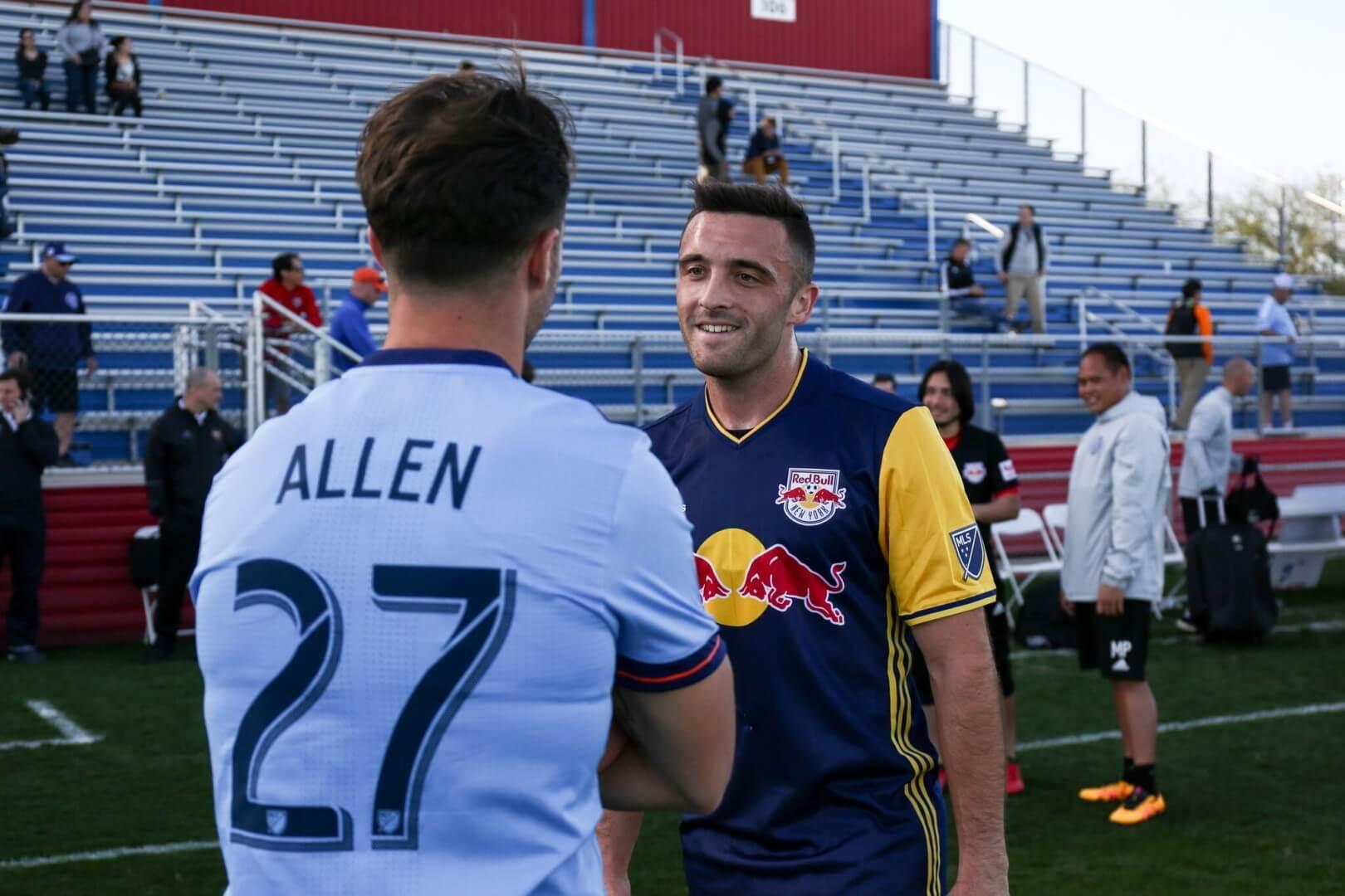 RJ Allen Soccer Player