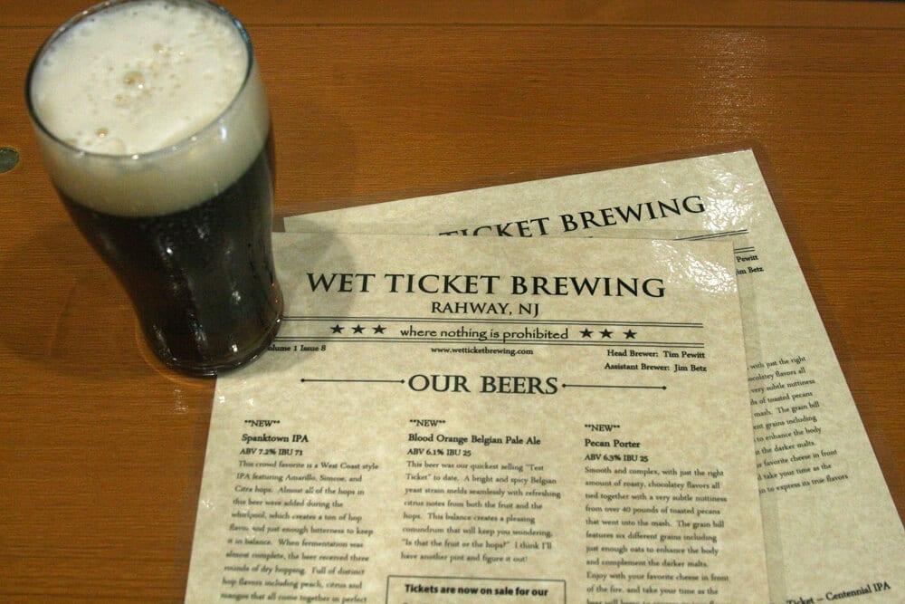wet ticket brewing, brew jersey