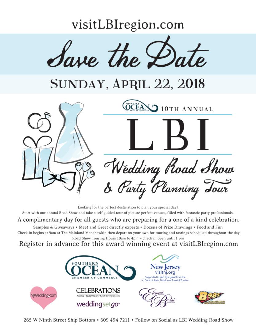 lbi, wedding road show, jersey shore, wedding