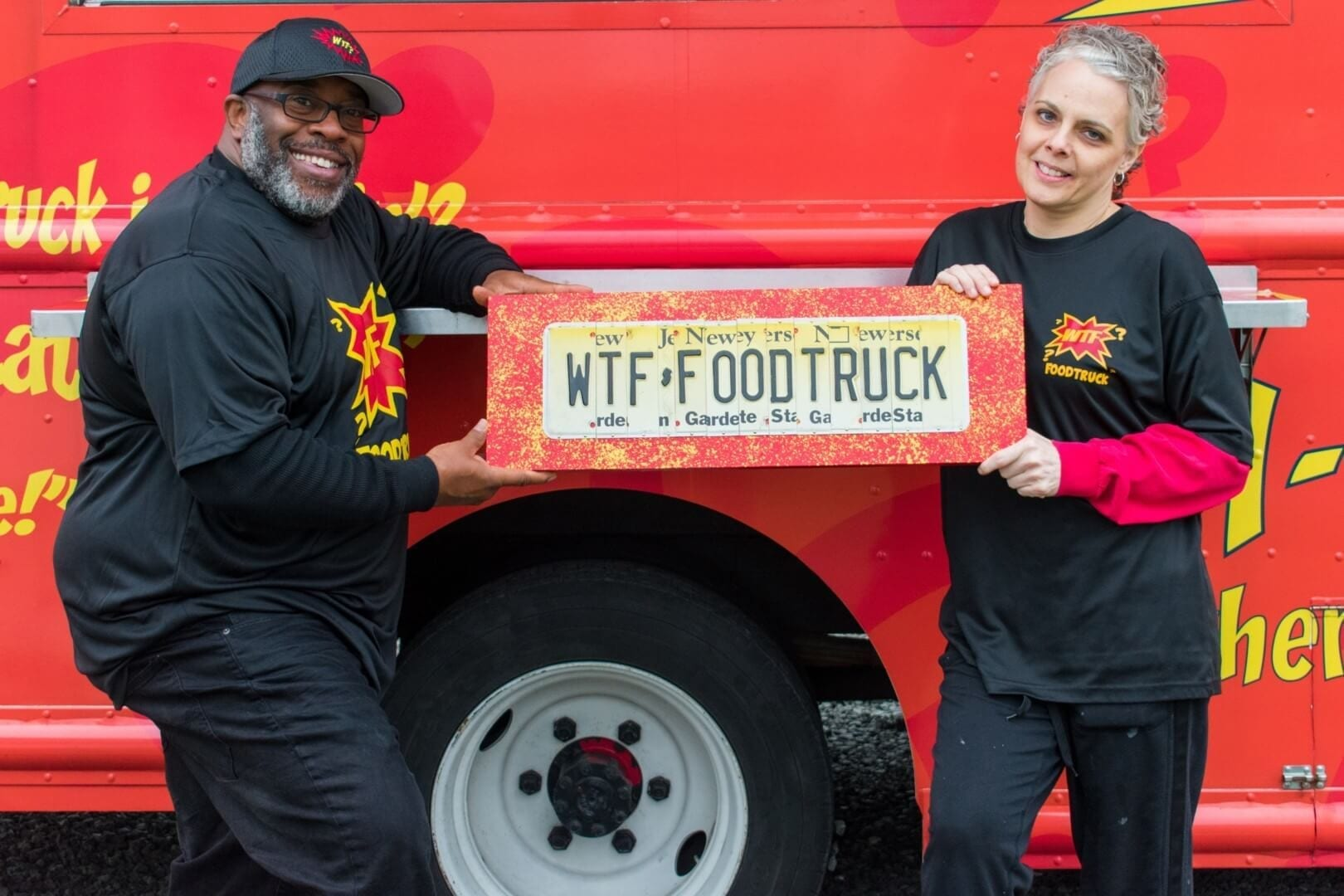 WTF? Food Truck Sign