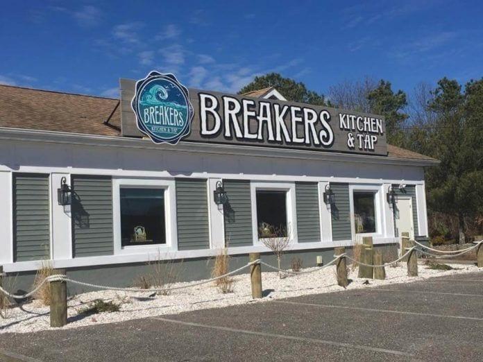 breakers, breakers kitchen & tap room
