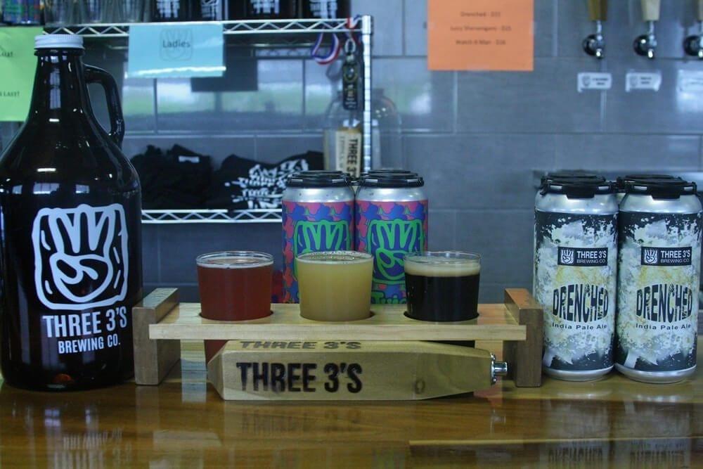 three 3's brewing