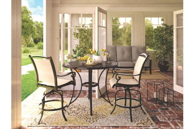 Alternate Patio set from Ashley Furniture