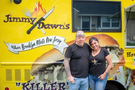 The Best New Jersey Food Trucks: JimmyDawn's