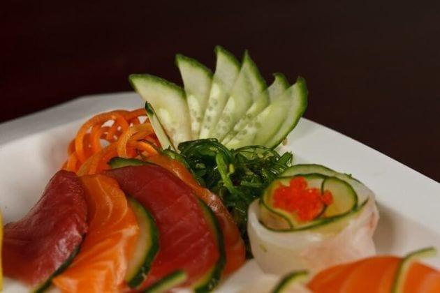 Blue Morel Sushi Platter