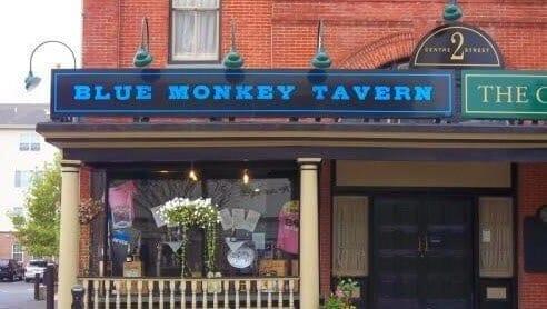 The Blue Monkey Tavern Exterior