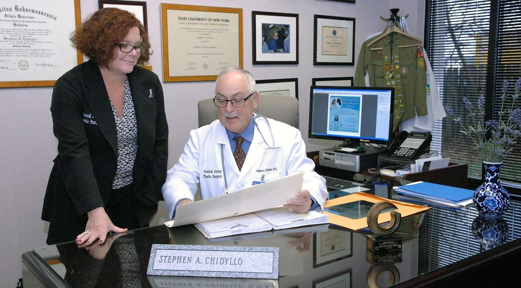 Dr. Stephen Chidyllo, Plastic Surgeon