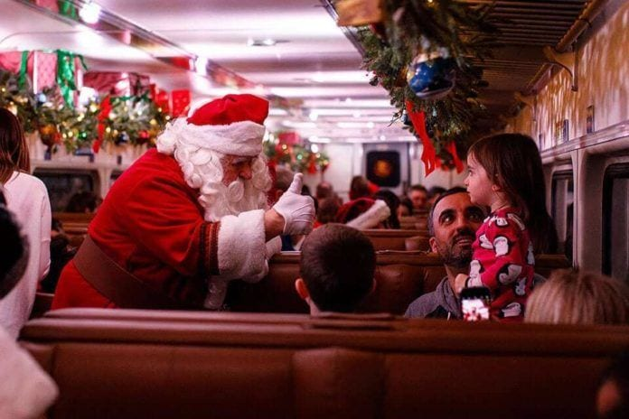 The Best Holiday Train Rides In New Jersey Of Nj