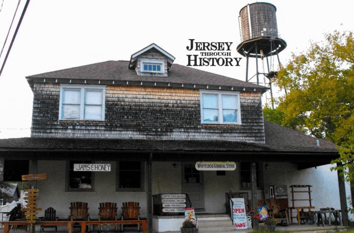 Whitesbog Village Interior with Jersey Through History Logo