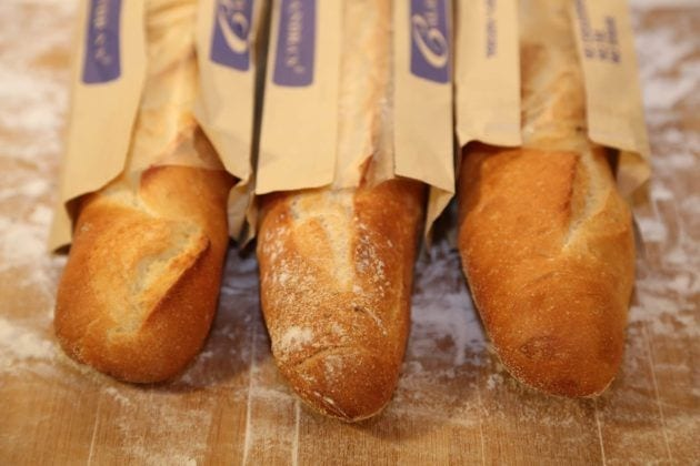 Bread Display from Calandra's Bakery