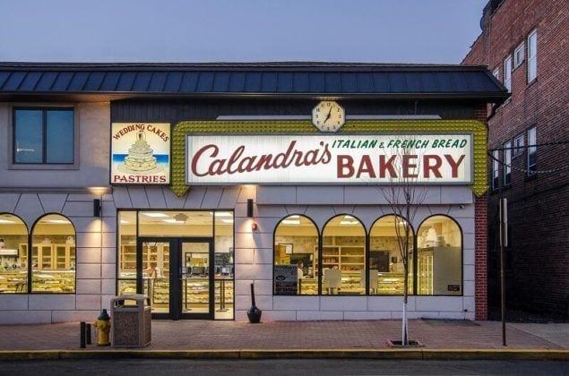 Calandra's Bakery Exterior