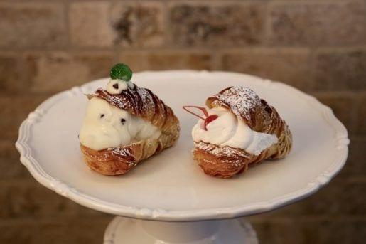 Mini Pastry Samples from Calandra's Bakery