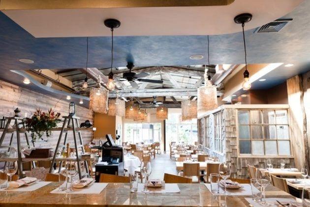 Interior Shot from Fin Raw Bar & Kitchen in Montclair, Seafood Restaurant