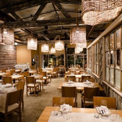 Dining Area of Fin Raw Bar & Kitchen in Montclair, Seafood Restaurant
