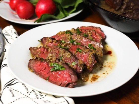 Mikes ABG steak