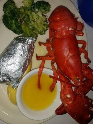 Lobster House Menu Sample
