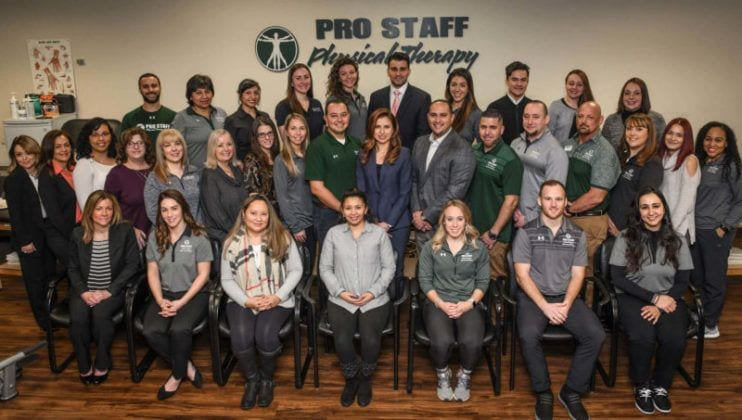 Pro Staff Physical Therapy Staff Photo