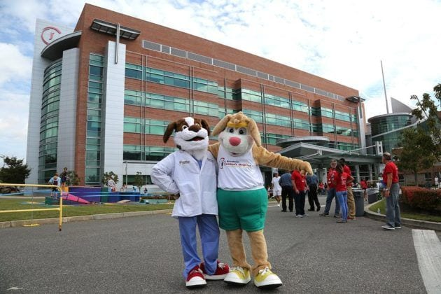 Photo of Mascots at Jersey Shore UMC Community Day