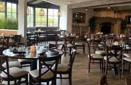 Interior Seating Photo of La Mondina Italian Restaurant in Brielle